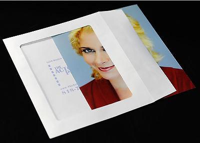 25 Actual 8x10 Open Window Envelopes For Headshots.... Actors Headshot Envelopes