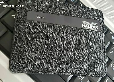 UNISEX  MKORS CREDIT CARD HOLDER , MKORS CARD HOLDER - BLACK
