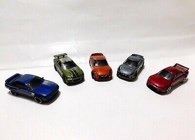 Lot of 5 Hot Wheels Nissan Skyline GT-R Red Blue Gray Green GTR