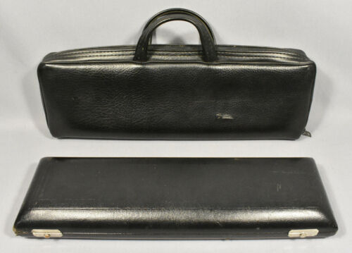 Gemeinhardt Flute and Piccolo Hard Combo Case Low B, FREE US Shipping!