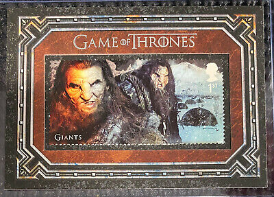 Game of Thrones Inflexions Rittenhouse - Stamp Card S14 - Giants