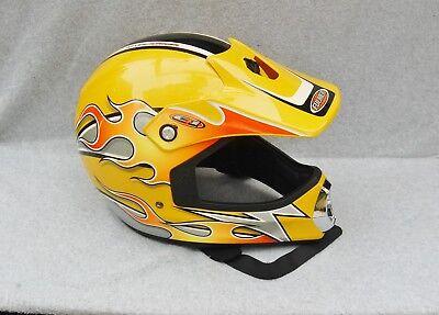 Fulmer Helmet C1 Afterburner Dot Motorcycle ATV Go-Cart Youth Large Adult Flame