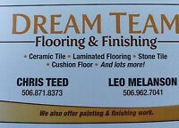 Dream team flooring... making your flooring dreams a reality