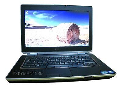Dell Latitude E6420 Laptop Windows 7 Core i5 2.5 Ghz 8GB RAM 1TB HD DVDRW WIFI