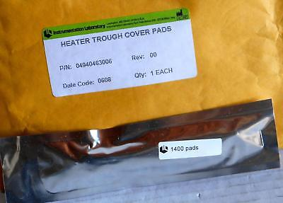 Instrumentation Laboratory Heater Trough Cover Pads 04940463006 New