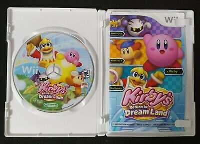 Kirby's Return to Dream Land Wii - COMPLETE & TESTED - Nice Clean Disc