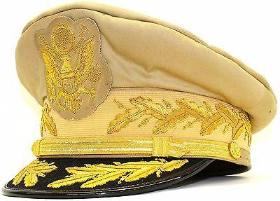 US General Douglas MacArthur/'s Uniform Khaki Hat SIZE 59 Reproduction CAP