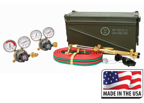 Harris HHD Limited Edition Deluxe Camo Ironworker 510 Oxy Acetylene Torch Kit