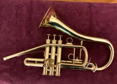 DEG (Donald Getzen)  Sax shaped Bb trumpet