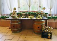 Beautiful and affordable rustic decor for rent