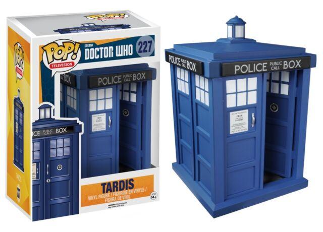 "Funko POP! TV Television BBC Doctor Who Tardis 6"" MIB!!! Torchwood Police Box"