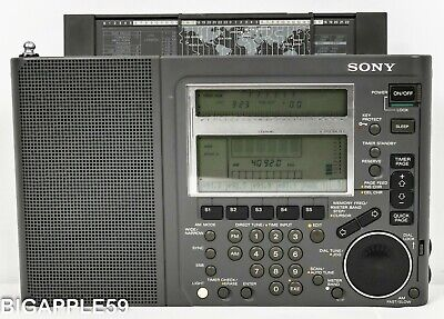 Sony ICF-SW77 Shortwave AM FM Premium Radio Receiver ***WONDERFUL RADIO***