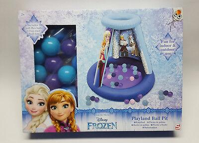 Disney Frozen Eiskönigin Kinder Kugelbad aufblasbar mit 20 kugeln ab 2+ ()