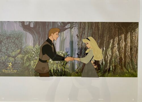 Sleeping Beauty Limited Edition Hand Painted Cel 58/250 DISNEY EMPLOYEE ONLY
