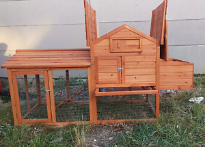 ❤NEW CHICKEN COOP RABBIT HUTCH 1830MM L 850MM D1000MM H $260 Londonderry Penrith Area Preview