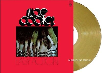 ALICE COOPER LP Easy Action GOLD Vinyl Limited Edition plays KILLER MIS-PRESSED!