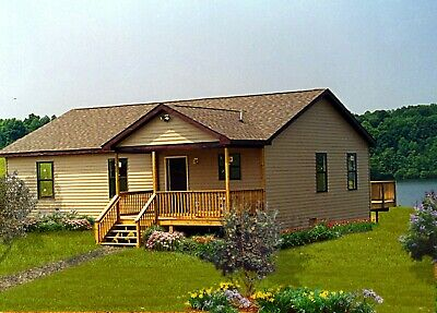 Southridge Ii 28 X 40 Customizable Shell Kit Home Delivered Ready To Build