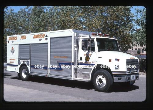 Sparks NV 2000 Freightliner Becker HazMat Fire Apparatus Slide