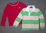 3T Girls Long Sleeve Shirt Lot