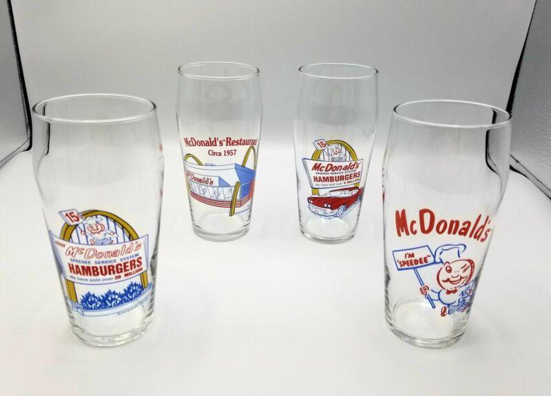 Vintage Lot of (4) 1993/95 McDonald