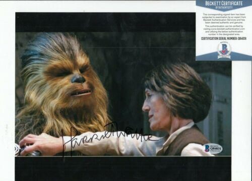 HARRIET WALTER signed (STAR WARS THE FORCE AWAKENS) 8X10 photo BAS BECKETT #4