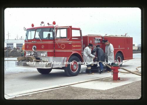 Fargo ND  Duplex Howe pumper May 1970 Fire Apparatus Slide