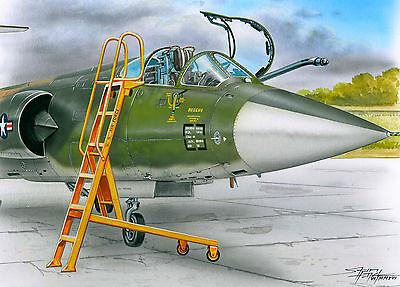 PLUS MODEL AL4061 Ladder / Leiter für F-104 in 1:48