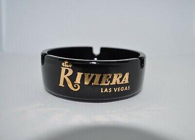 Vintage Riviera Delmonico Dino's Den Casino Glass Ashtray Las Vegas Motel