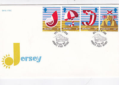 Jersey 1975 Tourism Unadressed FDC VGC