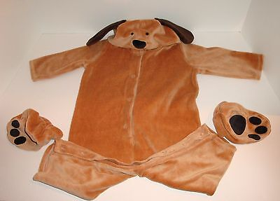 Pottery Barn Kids Brown Puppy Dog Halloween Costume NEW 6-12 months](Kids Dog Halloween Costumes)