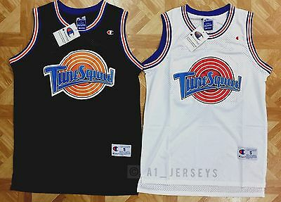 Space Jam Tune Squad Basketball Jersey Michael Jordan #23 Black White S M L XL
