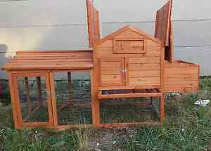 ❤❤RABBITS BABY CHICKEN COOP 2 NESTING BOXES FREE BAG BEDDING Londonderry Penrith Area Preview