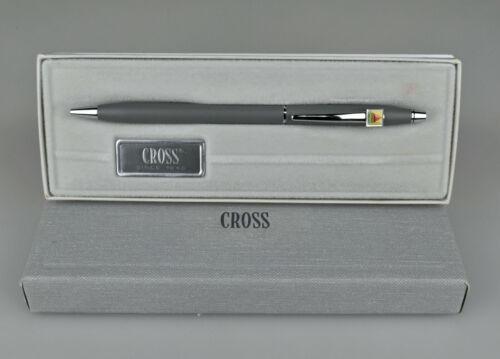 Cross 2102 Gray Satin CITGO Lubricants Campbell Oil Co Ballpoint Pen Advertising