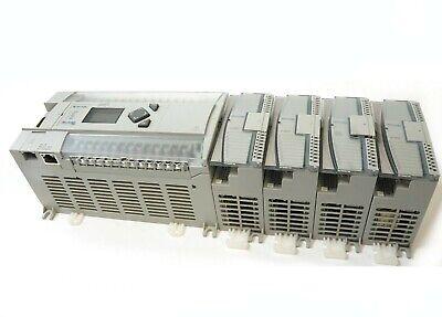 Allen Bradley Micrologix 1400 1766-l32bwa Plc W 1762-iq16 1762-ow16 Io Module