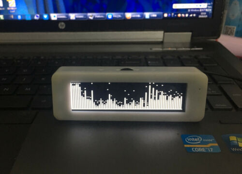 3.12 inch OLED Music Spectrum Display Analyzer Audio Level Indicator VU METER