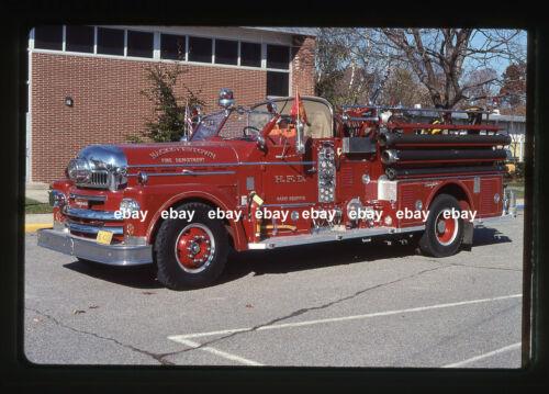 Hackettstown NJ 1965 Seagrave pumper Fire Apparatus Slide