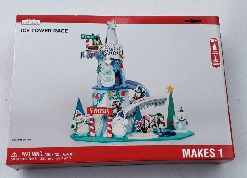 Creatology Christmas Ice Tower Race, Christmas Craft Kit Set, Ages 6+