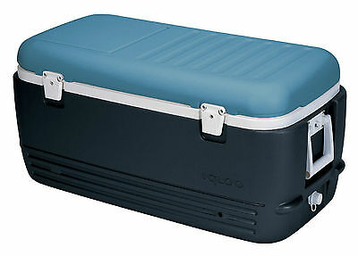 IGLOO MAX COLD100 QUART ICE CUBE LARGE 95L COOL BOX ICE CHEST CAMPING COOLER NEW Cool 100 Quart Cooler