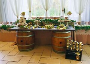 Rustic dessert/sweets table items for rent