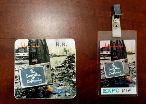 Julian Lennon-Beatles Backstage VIP Set of Passes For Julian's 1986 World Tour
