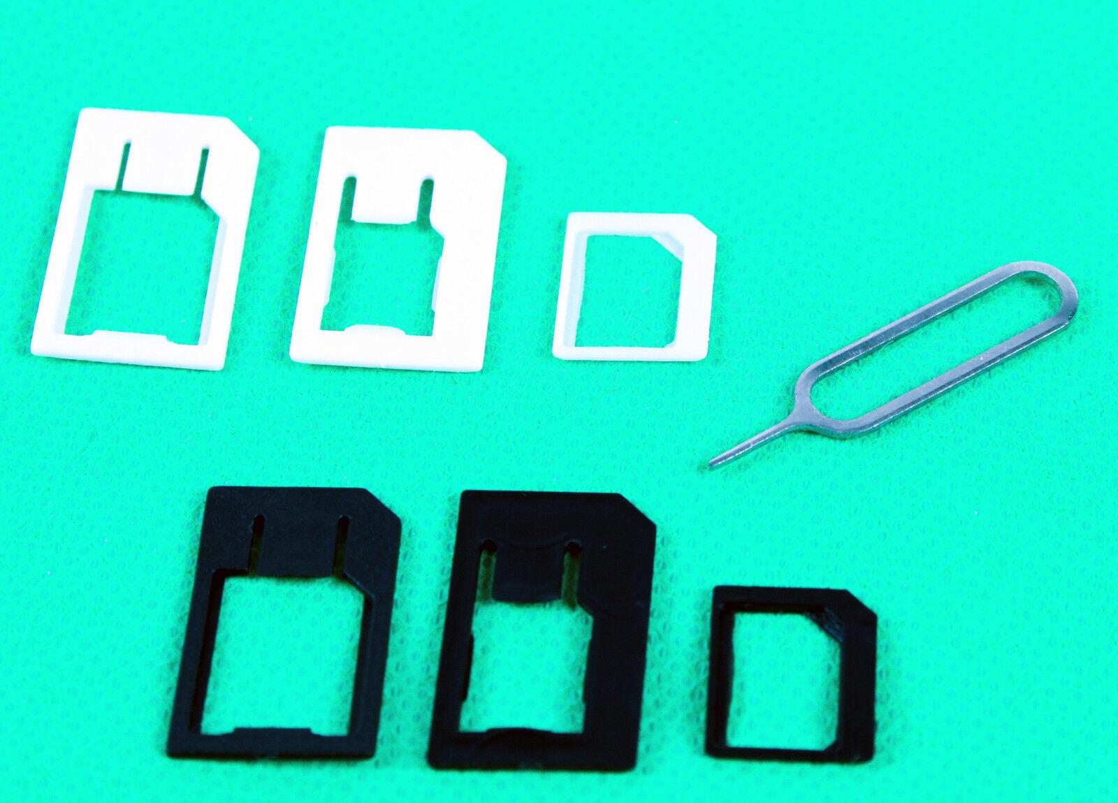 nano micro kartenadapter sim karte adapter kartenleser. Black Bedroom Furniture Sets. Home Design Ideas