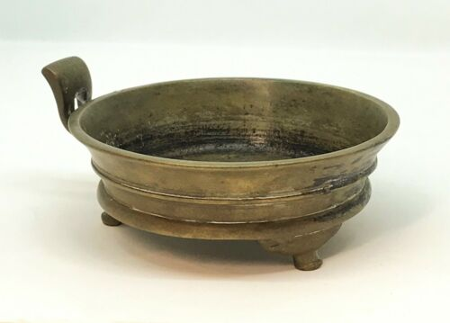 17th c. Ming Dynasty Xuande Marked Bronze Tripod Censer