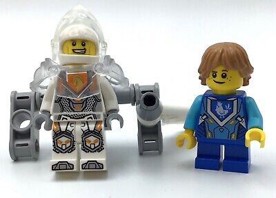 LEGO LOT OF 2 NEXO KNIGHT MINIFIGURES CASTLE PEOPLE SOLDIERS