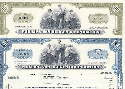 Lot 2 x Phillips van Heusen Corporation, (New York Calvin Klein, Tommy Hilfiger)
