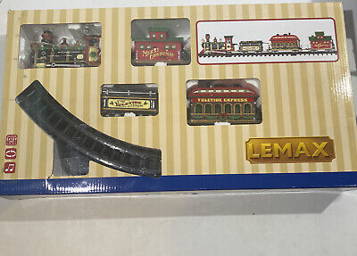 Lemax 24472 Village Yuletide Express 2012 Christmas Train Set Battery Operated