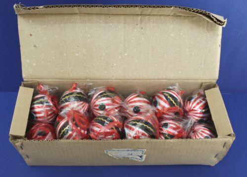 Wholesale Box of 12 Cafi Dickmal Squirrel satin Sheen Christmas Picks 70s NOS