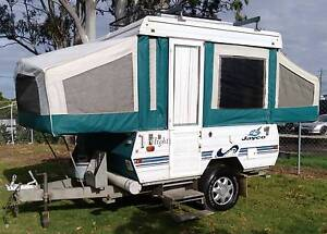 1999 JAYCO 9ft WINDUP CARAVAN, OFF ROAD, ANNEXE, SOLAR, BATTERY Deception Bay Caboolture Area Preview