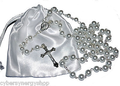 First Holy Communion Rosary Beads - 1st Communion Present  - Girls & Boys Gift](First Communion Present)