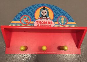Thomas and friends coat rack, wall hooks Birrong Bankstown Area Preview