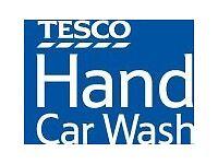 Tesco Hand car Wash